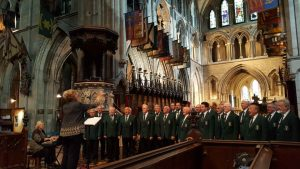Hart MVC in St Patricks Cathedral